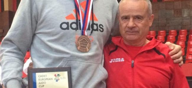 Ивайло Димитров с бронз на Европейската купа по джудо за кадети в Теплице