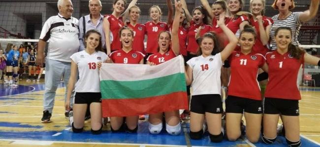 Момичетата U15 спечелиха турнир в Сърбия