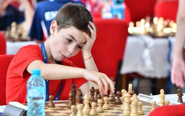 Добро представяне на Европейското за деца  и кадети по шахмат