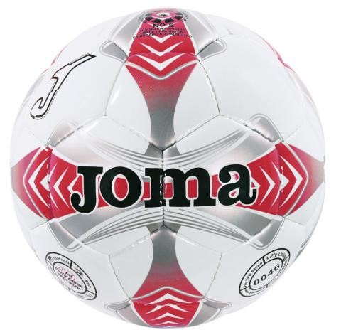 soccer ball white-red-grey.egeo 4